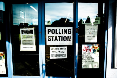 polling station in us