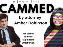 SCAMMED by attorney Amber Robinson and partner Ralph Strzalkowski